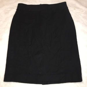 Banana Republic Black Pencil Skirt Size 4